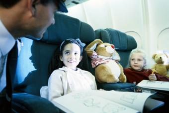 Enfant voyageant seul