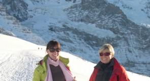J'ai appris en Suisse ce que voulez dire « skier! »