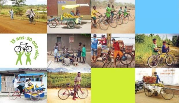 Cyclo Nord-Sud souffle ses 15 chandelles et l'envoi de son 50,000e vélo