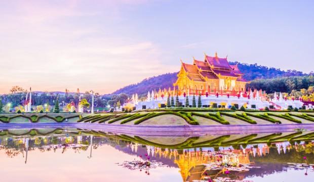 Carte postale d'un lieu mythique de la Thaïlande