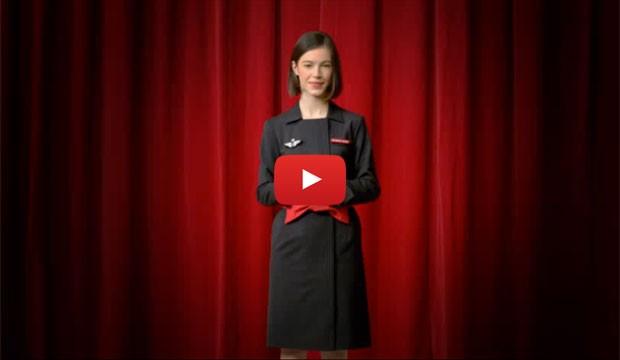[Air France] réinvente sa vidéo de démonstration de sécurité à bord