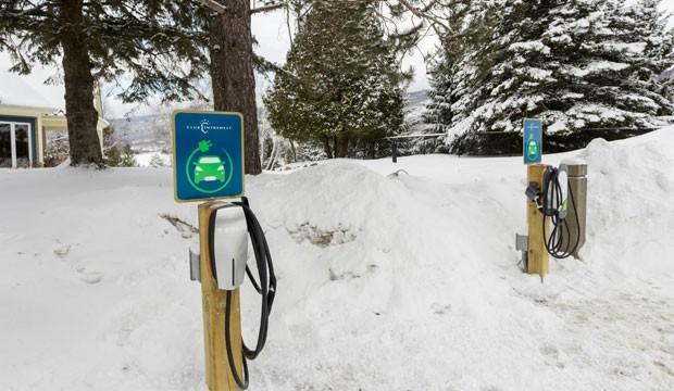 Club Intrawest lance des installations de bornes de recharge pour véhicules électriques