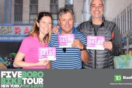 Club Voyages roule pour une bonne cause lors de la 38ème édition du TD FIVE BORO BIKE TOUR à New York