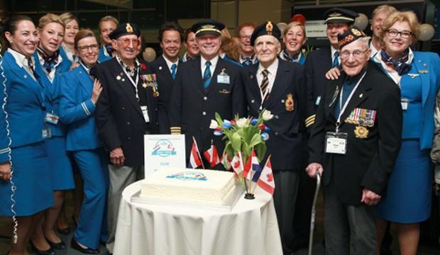 KLM souligne les 70 ans des Pays-Bas