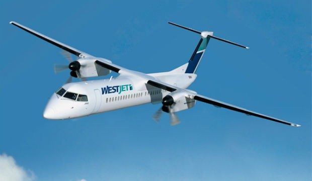 WestJet : cinq avions Q400 NextGen de Bombardier