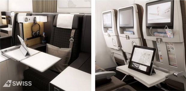 Swiss nouvelle cabine et nouvel avion vedette boeing 777 for Interieur 777 300
