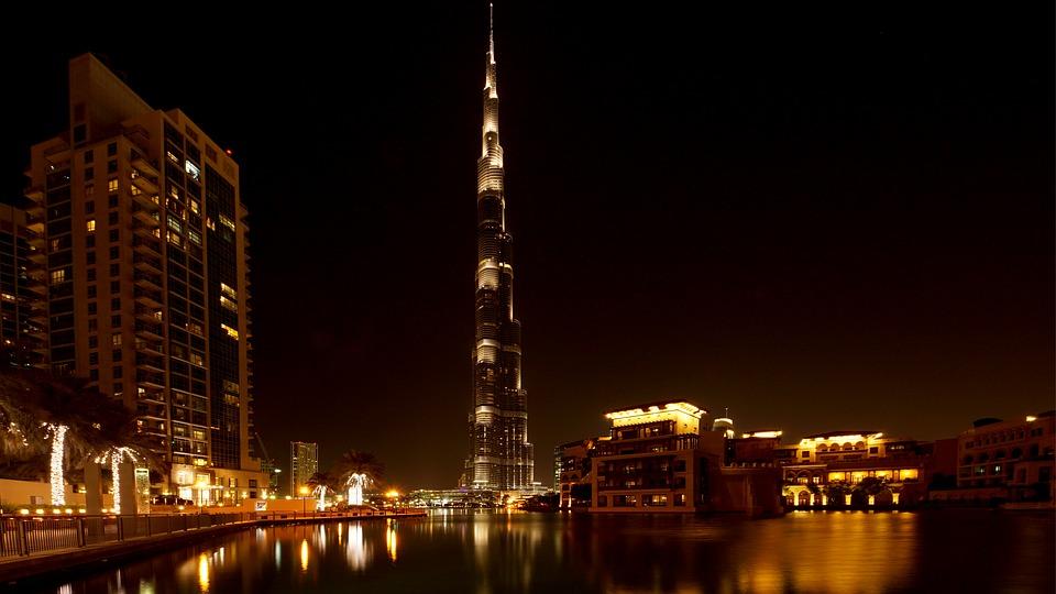 tourisme a dubai, burj khalifa la tour le plus haute du monde