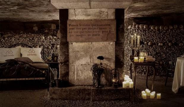 Airbnb lance un forfait dans les Catacombes de Paris pour Halloween