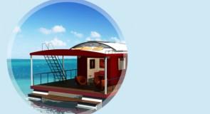 Un hôtel flottant en Guadeloupe vogue sur les lagons