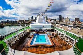 Visite exclusive du Silver Whisper accosté au port de Montréal