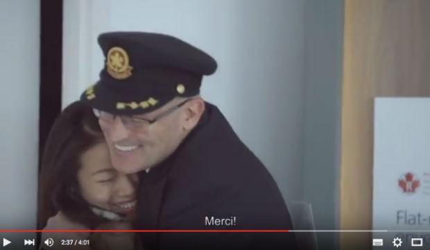 Air Canada nous donne la chaire de poule #ACenvoldesfêtes