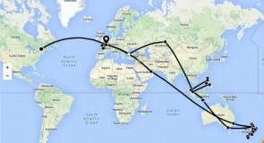 Plus de 35 000 km à travers 8 pays, en esquivant l'hiver…- Article 2