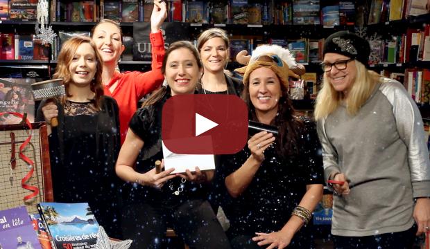 Profession Voyages vous souhaite ses bons voeux…en vidéo naturellement!