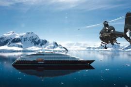 Lancement du premier yacht de découverte du monde