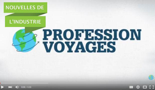 Profession Voyages lance sa chaîne Youtube