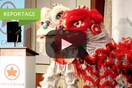 Air Canada célèbre le nouvel an Chinois