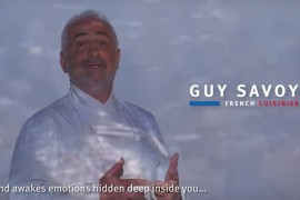 Guy Savoy, ambassadeur du tourisme d'affaires français