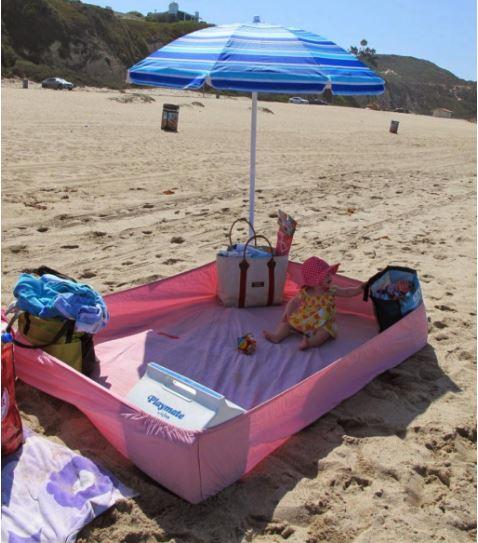 utiliser la technique du drap pour votre confort a la plage