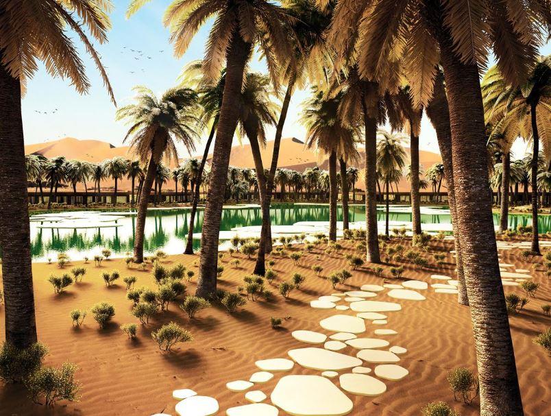 Oasis Eco Resort à Dubai