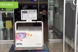 Léo, le nouveau robot bagagiste de l'aéroport de Genève