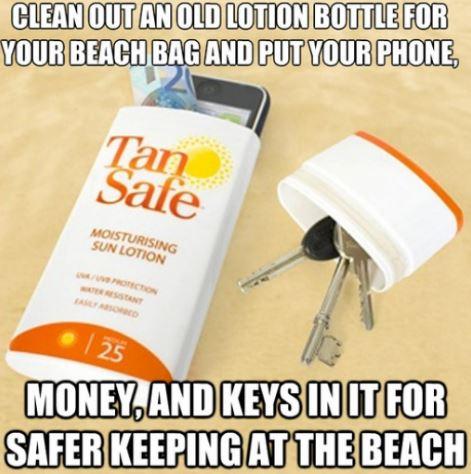 eviter le vol quand on est sur la plage