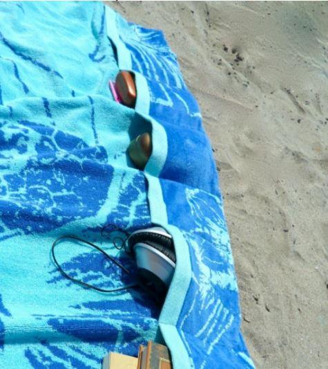 customiser sa serviette de plage