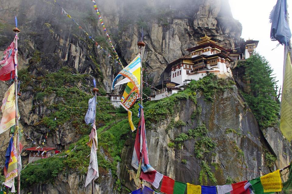 temple et monastere au bhoutan