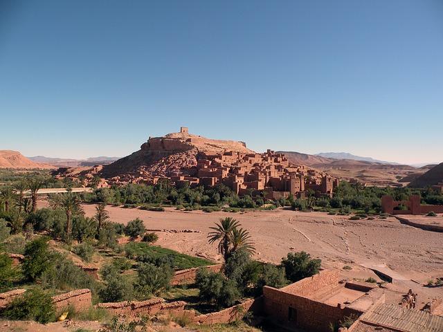les routes de kasbah au maroc pour les voyages de groupe