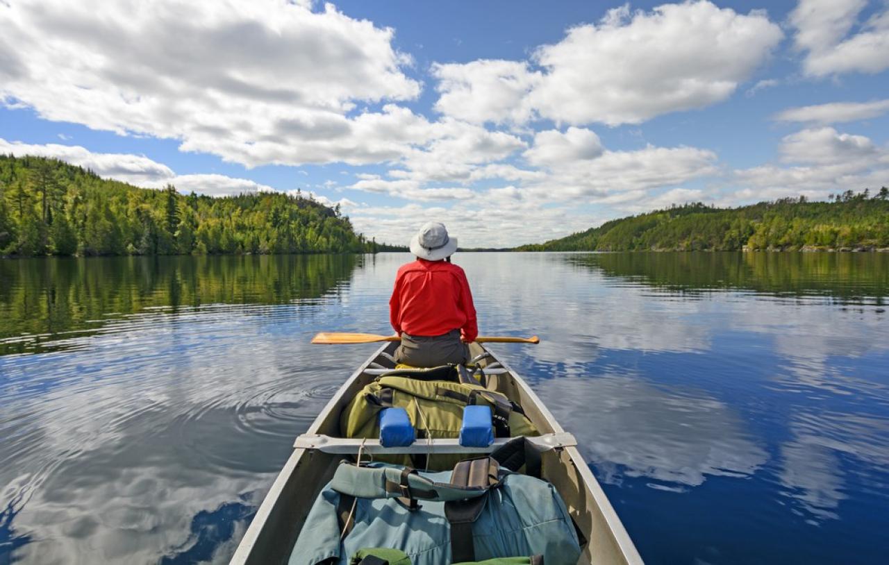 activites aquatiques au etats unis le canot boundery
