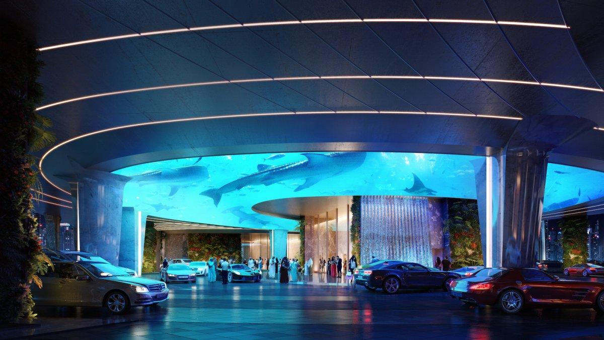 aquarium 3D a dubai