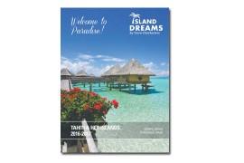 Tours Chanteclerc lance une brochure en anglais, Tahiti & her islands