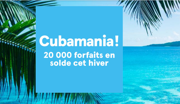 cubamania de transat 20 000 forfaits sud en solde profession voyages. Black Bedroom Furniture Sets. Home Design Ideas