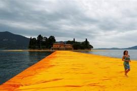 Marcher sur l'eau en Italie c'est possible!