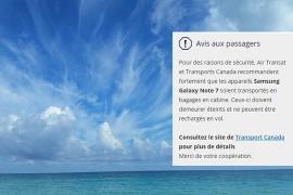 Croisières et vols: La descente aux enfers de Samsung