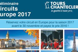 Évitez les augmentations de tarifs avec Tours Chanteclerc !
