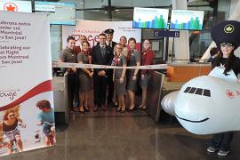 [Air Canada] inaugure son vol direct entre Montréal et San José