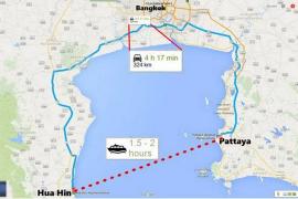 Thailande: Un ferry reliera Pattaya à Hua Hin en 2017