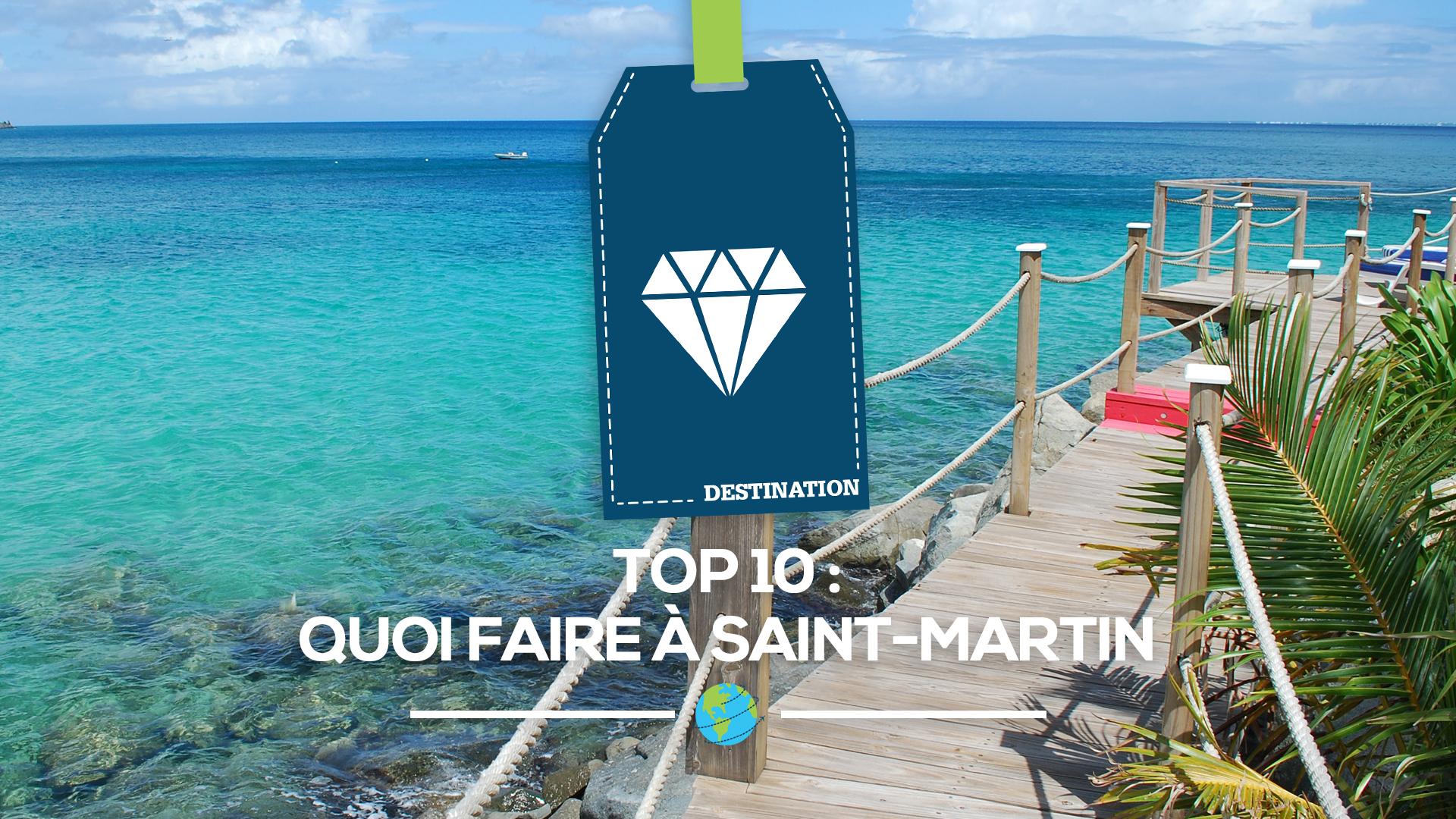 activites saint martin