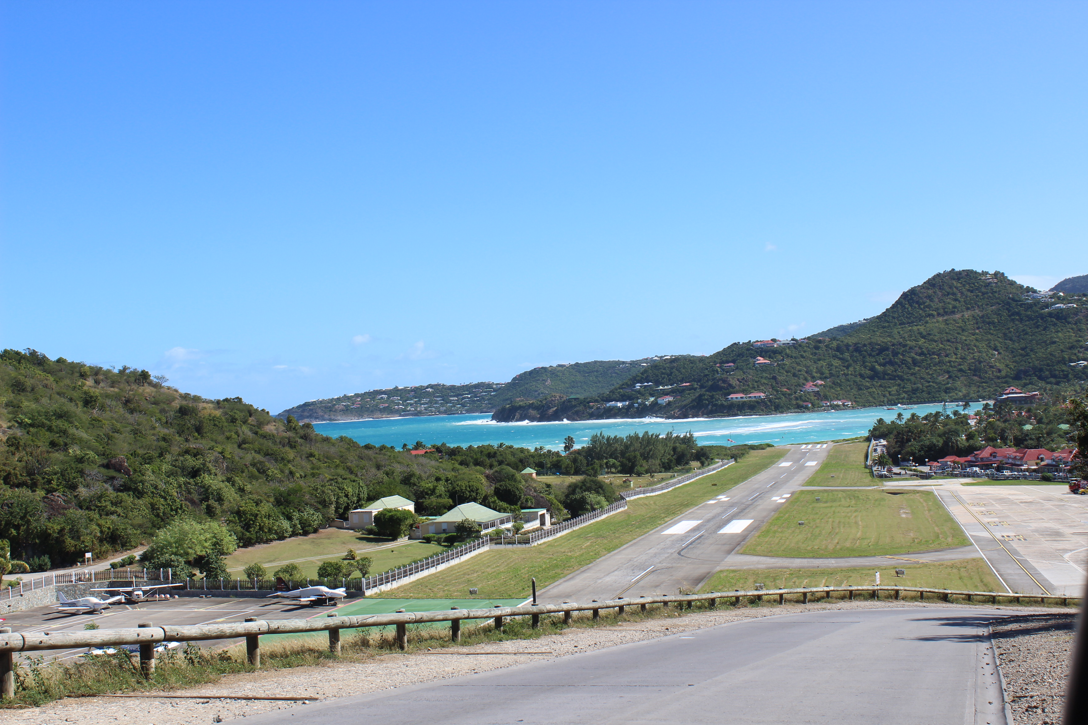 piste atterrissage st-barth