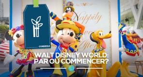[Conseils] Première visite à Walt Disney World: par où commencer?