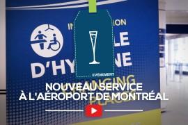 [Reportage] Nouveau service à l'Aéroport de Montréal