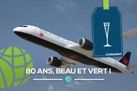 [Air Canada] Beau, élégant et durable à 80 ans!