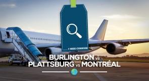 [Miss Curieuse] : Plattsburgh vs Burlington vs Montréal