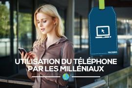 Utilisation du téléphone par les Milléniaux