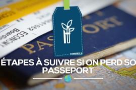 [Ressources] 3 étapes à suivre si on perd son passeport
