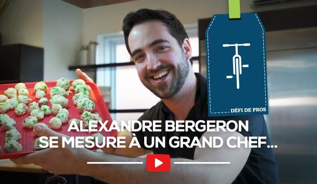 [DÉFI DE PROS] Alexandre Bergeron vous prépare l'apéro!