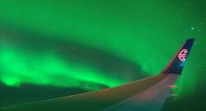 Un charter pour admirer les aurores australes!