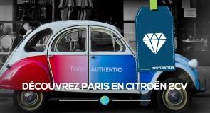 Découvrez Paris en Citroën 2CV!