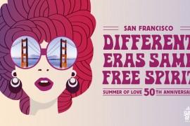 Célébrez le 50e anniversaire du Summer of Love, à San Francisco!