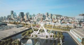 [Montréal] La plus haute grande roue d'observation au Canada dans le vieux port!